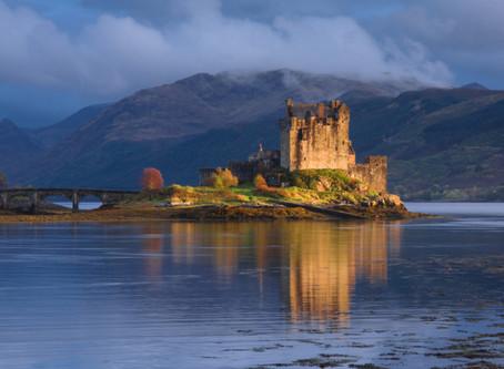 A romantic Scottish wedding