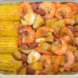 Shrimp Combo Platter