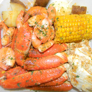 1 CLUSTER SNOW CRAB COMBO