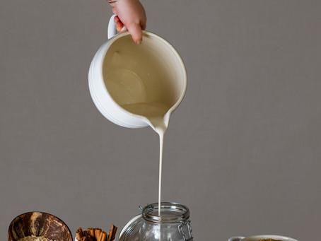 Homemade Oat Milk