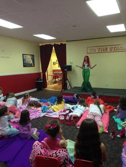 Ariel singing