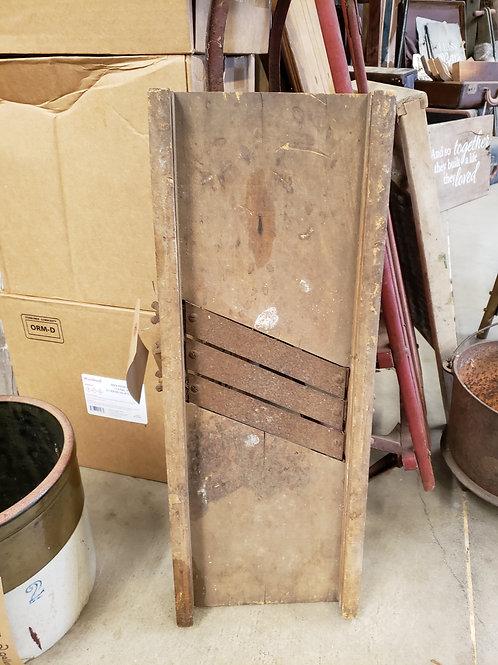 Antique Wooden Mandoline