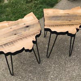 Reclaimed Wood Ohio Table - 2' x 2'