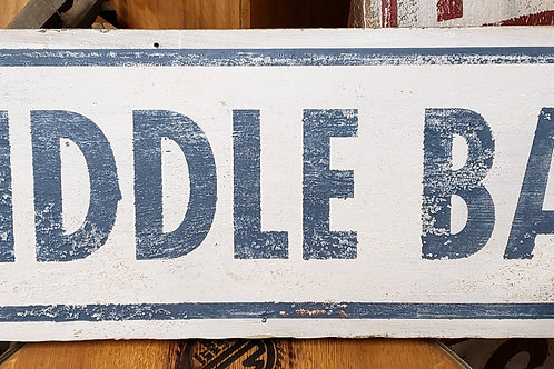 Large Hand Painted Signs on Reclaimed Barn Wood