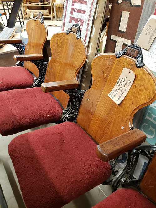 Set of 4 Antique Seats