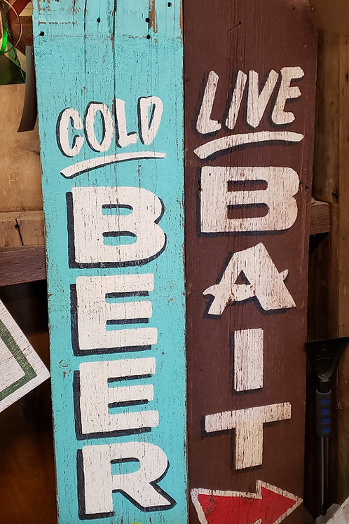 Medium Hand Painted Signs on Reclaimed Barn Wood