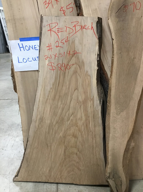 Red Birch Live Edge Slabs
