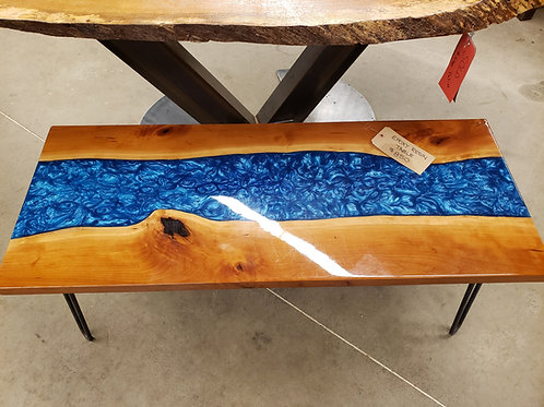 Epoxy River Coffee Table w/Hairpin Legs