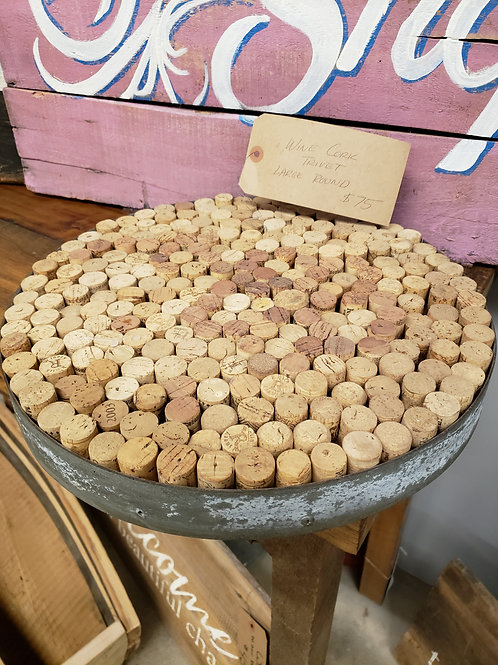 Wine Cork Trivet Large Round