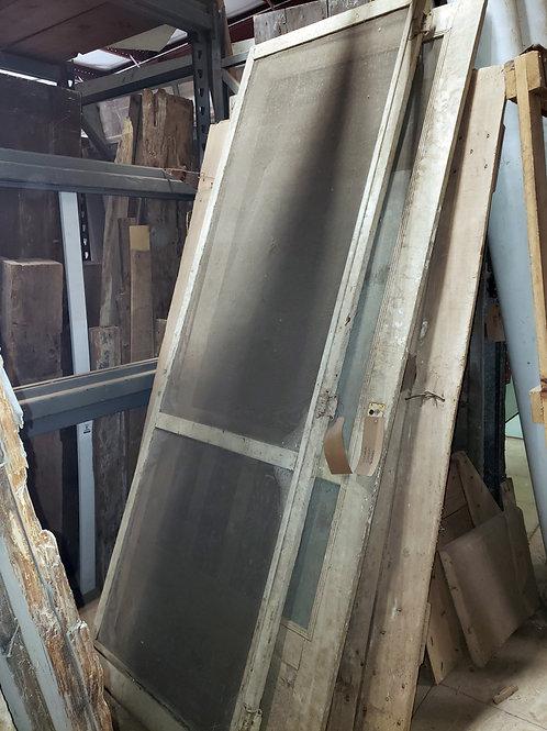 Decorative Screen Barn Door