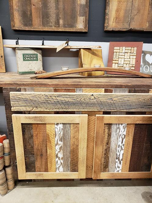 Rustic Farmhouse Console/Vanity Cabinet