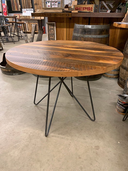 "42"" Dining Table on Custom Designed Base"