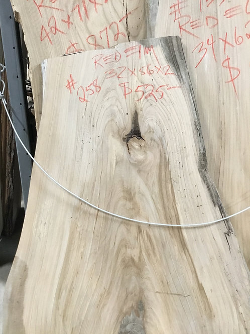 Red Elm Live Edge Slabs