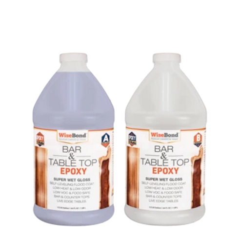WiseBond Bar and Table Top Epoxy - 1 gallon