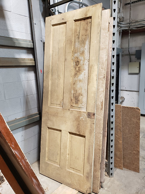 Aged White Doors