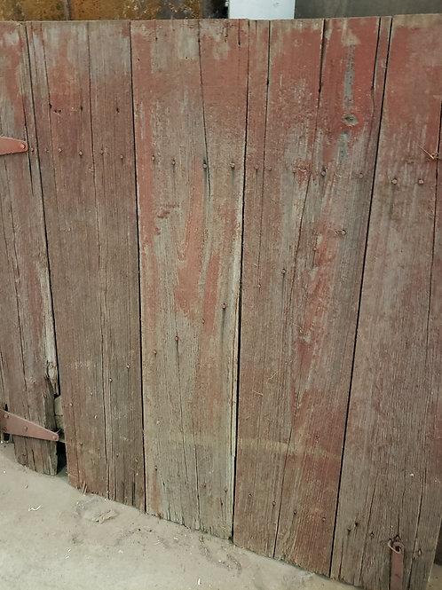 Half Barn Door Red