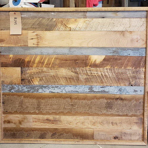 Beautiful Rustic Farmhouse Reclaimed Barnwood Accent Piece