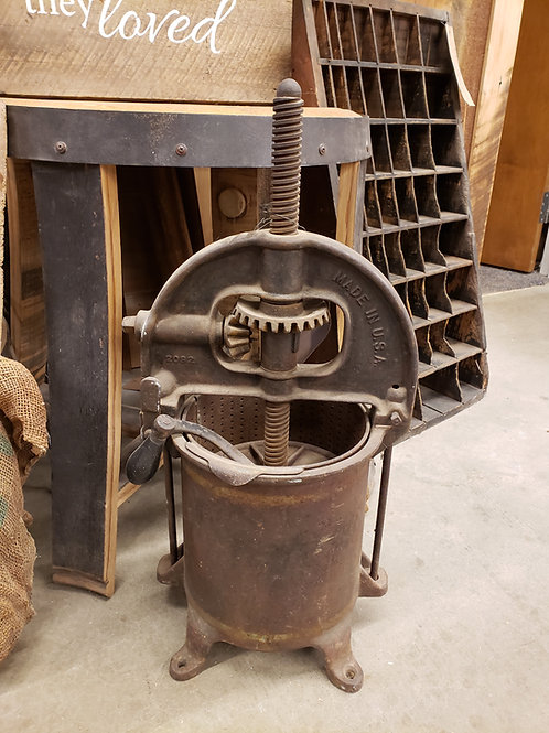 Antique Sausage Press