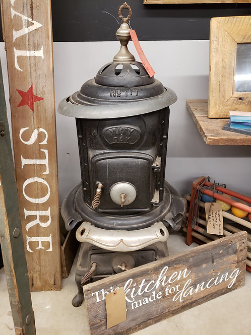 Vintage Pot Belly Stove