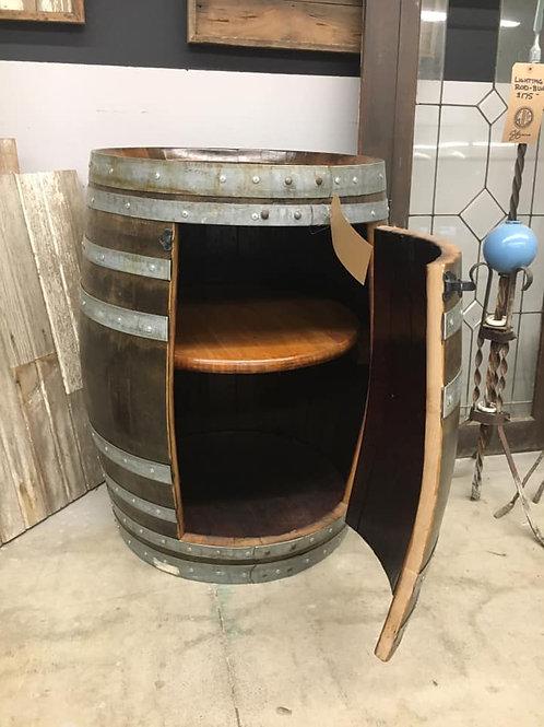 Wine Barrels Cabinet