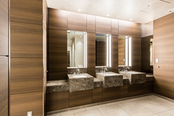 Kitchen and Restrooms