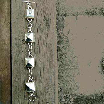 Tent Linked Bracelet