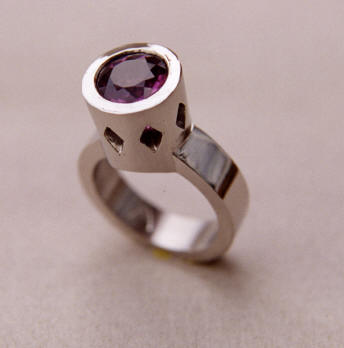 Pink Tourmaline Punchy Cocktail Ring