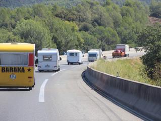 La route vers L' Italie