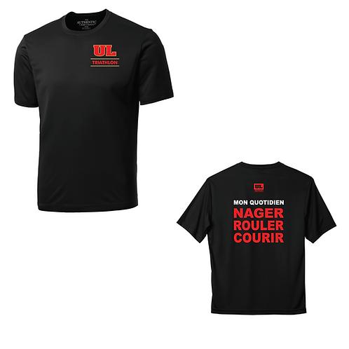 T-shirt Nager, Rouler, Courrir