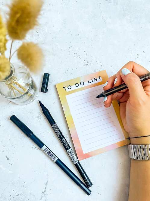 To do list - Sunset Notepad