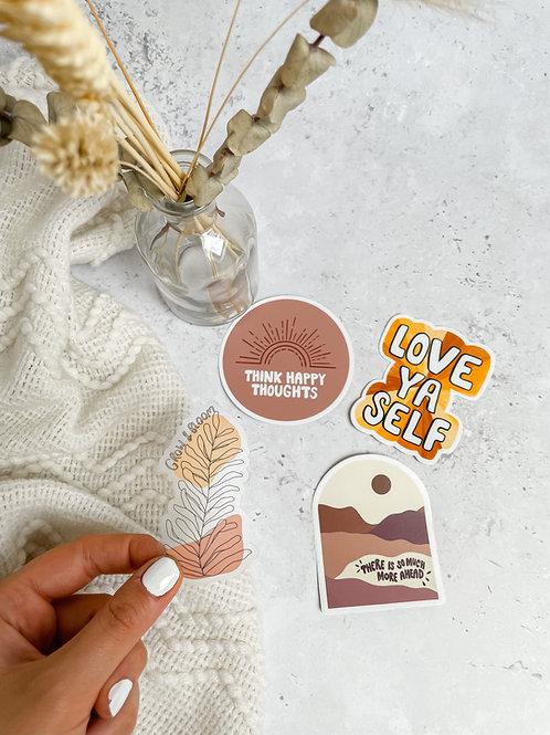 Nude Tone Sticker Pack