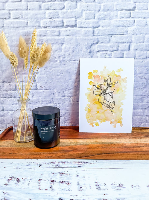 Yellow flower - Print