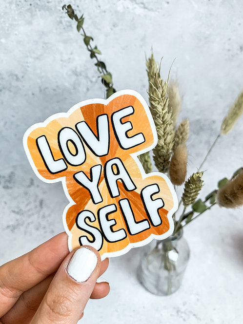 Love Yourself - Sticker