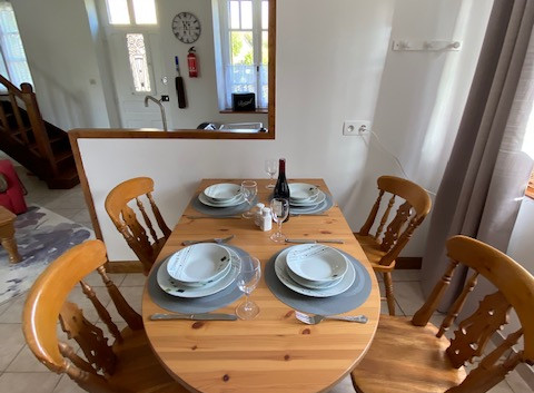 Gite Dining Area
