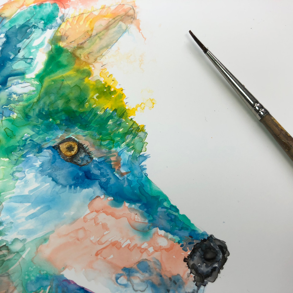 Wolf - stage one