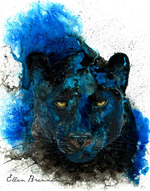 Black Panther Spirit Animal Panther Symbolism By Ellen Brenneman