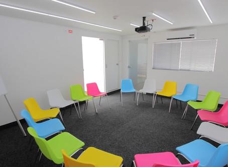 Sala de capacitación ideal para un evento efectivo