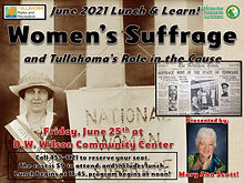 June Lunch and Learn 2021 - Women's Suff