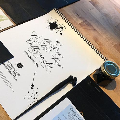 10/21 Virtual Modern Pointed Pen Workshop 5-7pm EST