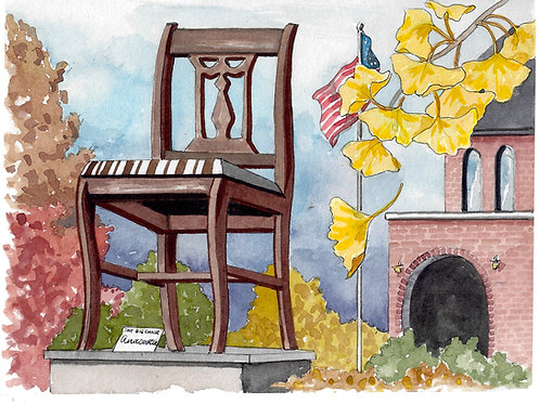 The Big Chair Giclee Print