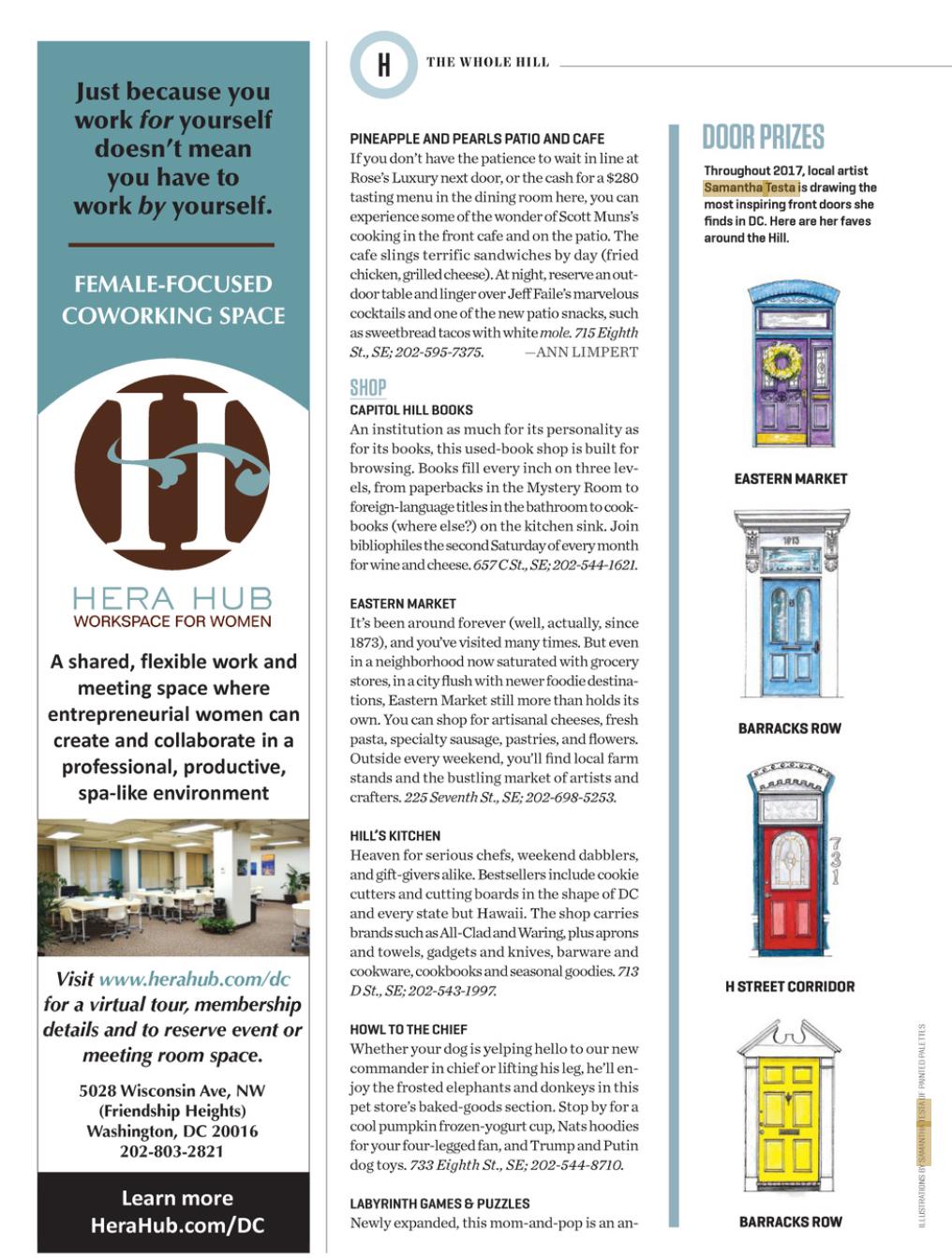 Washingtonian Magazine Feature