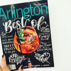 Arlington Magazine Cover Design