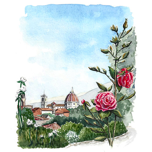 Florence, Italy Giclee Print
