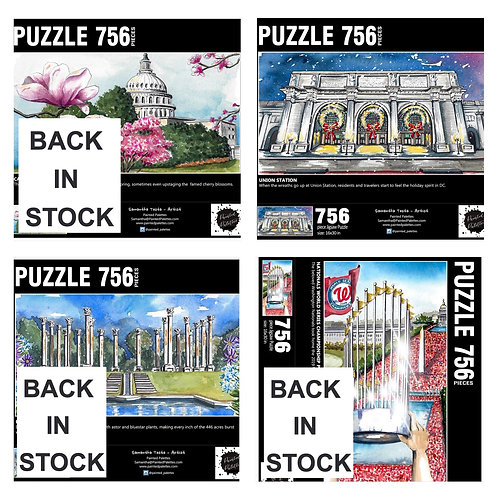 756 Piece DC Puzzles