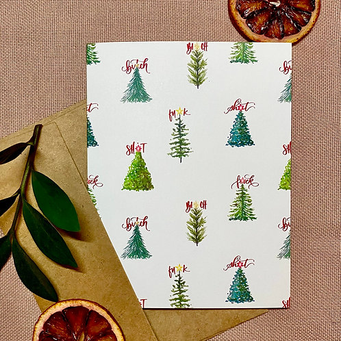 ProfaniTREES Holiday Greeting Card