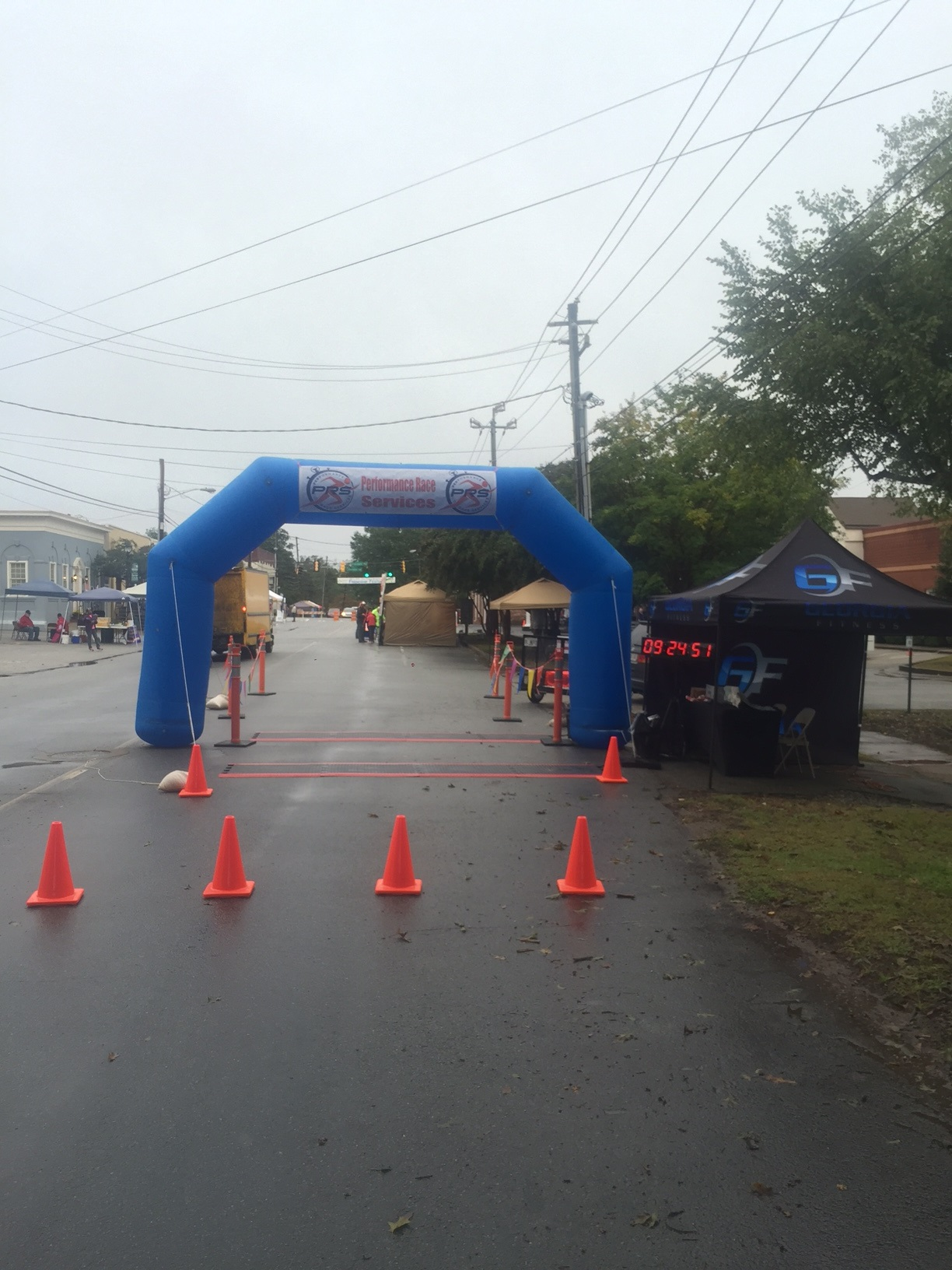 Friendship 5k Finish Line