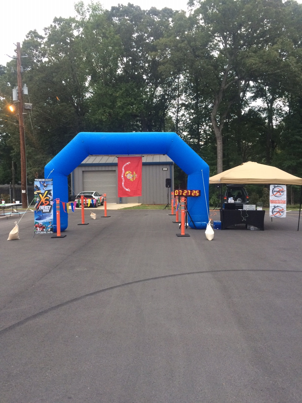 USMC Birthday Bash Finish Line