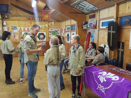 Installeren van de nieuwe Scouts