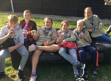 Volleybaltoernooi met de Scouts regio