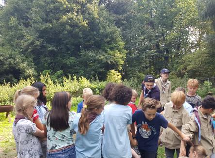 Eerste opkomst Scouts en Wereldhavendagen